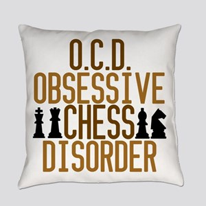 Funny Chess Addict Everyday Pillow