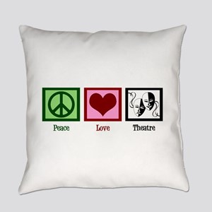 Peace Love Theatre Everyday Pillow