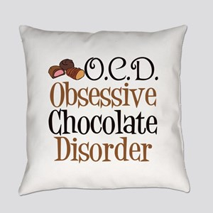 Cute Chocolate Everyday Pillow