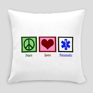 Peace Love Paramedic Everyday Pillow