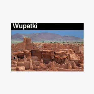 Wupatki NM Rectangle Magnet (100 pack)