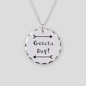Gocha Day - Adoption Necklace Circle Charm