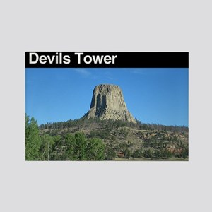 Devils Tower NM Rectangle Magnet (100 pack)
