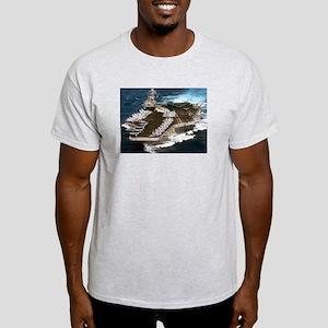 USS Kennedy Ship's Image Light T-Shirt