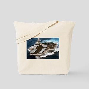 USS Kennedy Ship's Image Tote Bag