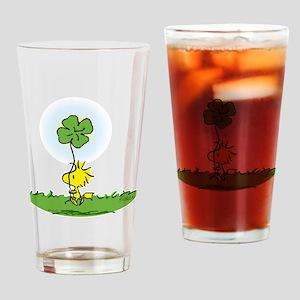 Woodstock Shamrock Drinking Glass