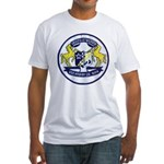 USS BRUMBY Fitted T-Shirt