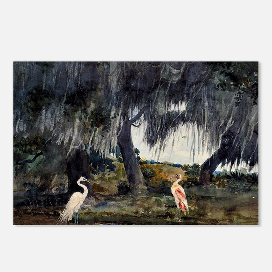 At Tampa, painting by Win Postcards (Package of 8)