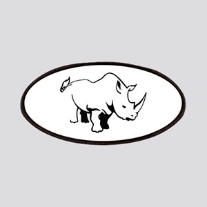 RHINO OUTLINE Patch