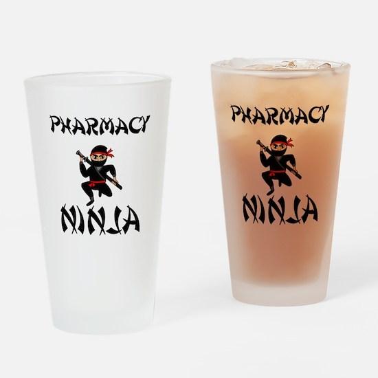 Pharmacy Ninja Drinking Glass