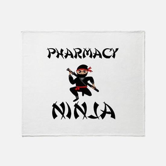 Pharmacy Ninja Throw Blanket