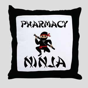 Pharmacy Ninja Throw Pillow