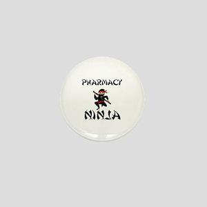 Pharmacy Ninja Mini Button