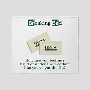 Breaking Bad Stevia Throw Blanket