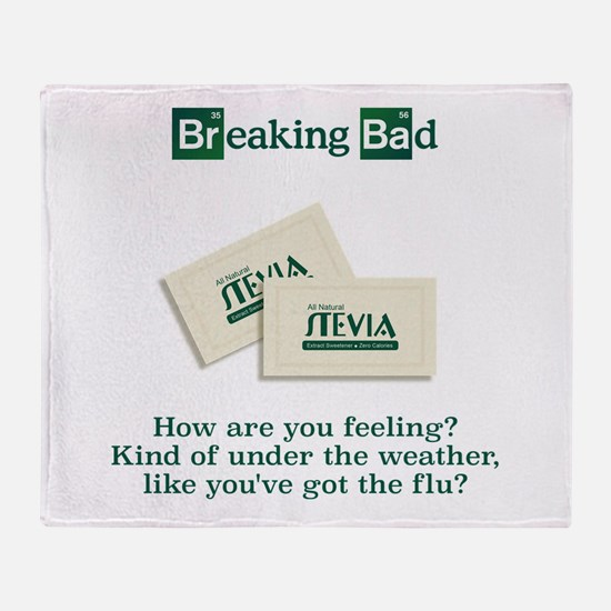 Breaking Bad Stevia Throw Blanket