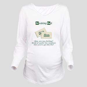 Breaking Bad Stevia Long Sleeve Maternity T-Shirt