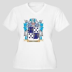Santiago Coat of Arms - Family C Plus Size T-Shirt