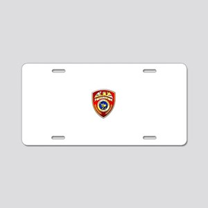 Suffolk County Police Aluminum License Plate