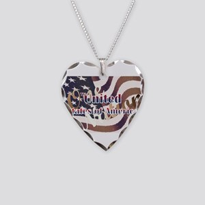 United Necklace Heart Charm