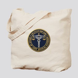 New York Medical Examiner Tote Bag