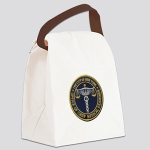 New York Medical Examiner Canvas Lunch Bag