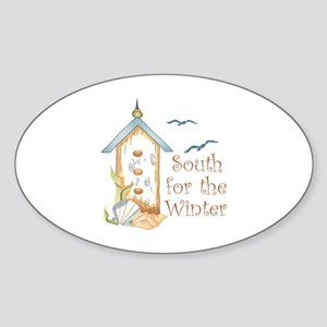 SOUTH FOR THE WINTER Sticker