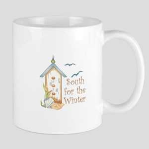 SOUTH FOR THE WINTER Mugs