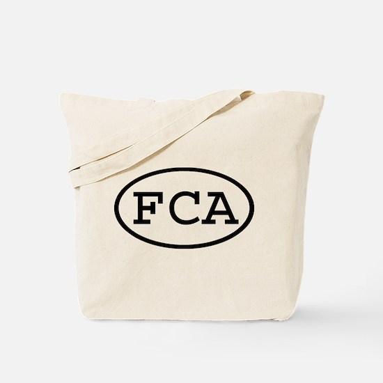 FCA Oval Tote Bag