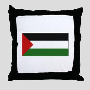 Palestinian Flag - Palestine Throw Pillow