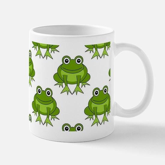 Cute Happy Frog Pattern Mug