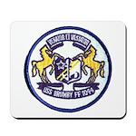 USS BRUMBY Mousepad