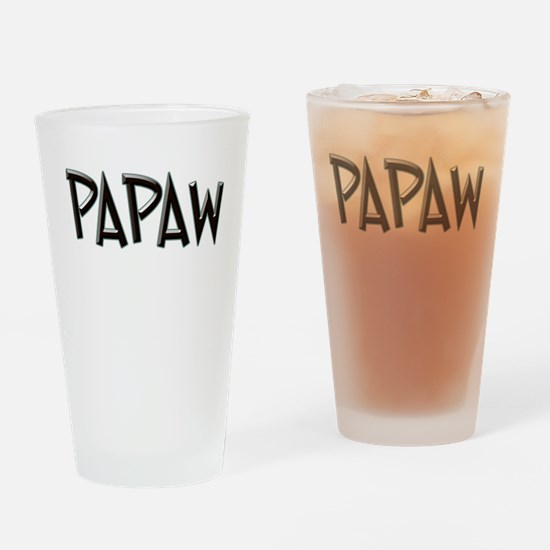 PAPAW CHISEL GB Drinking Glass