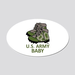 US ARMY BABY BOOTS Wall Decal