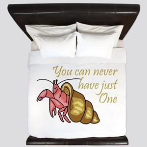 NEVER HAVE JUST ONE King Duvet