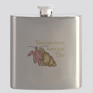 NEVER HAVE JUST ONE Flask