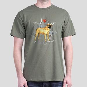 Bullmastiff Dark T-Shirt