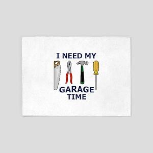 I NEED MY GARAGE TIME 5'x7'Area Rug