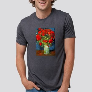 Van Gogh Red Poppies Floral T-Shirt