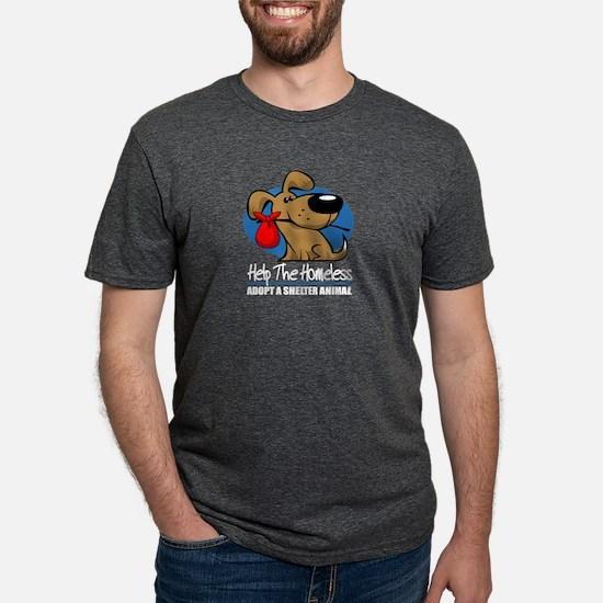 Homeless Pet2 blk T-Shirt