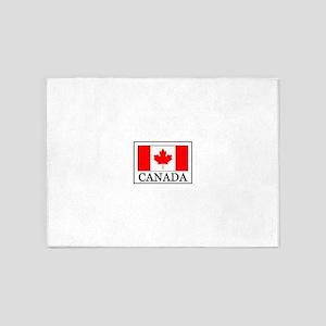 Canada 5'x7'Area Rug