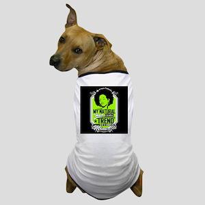 Natural Not Trend (Neon) Dog T-Shirt