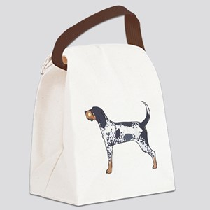 BLUETICK COONHOUND Canvas Lunch Bag