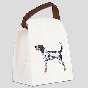 BLUETICK COONHOUND Canvas Lunch Bag