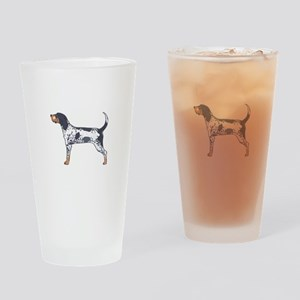 BLUETICK COONHOUND Drinking Glass
