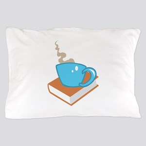 HOT COFFEE ON BOOK Pillow Case