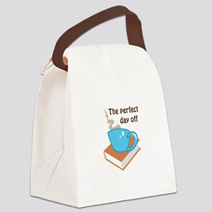 THE PERFECT DAY OFF Canvas Lunch Bag