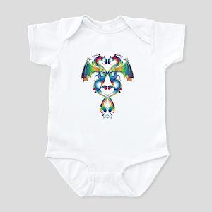 Rainbow Love Dragons Infant Bodysuit