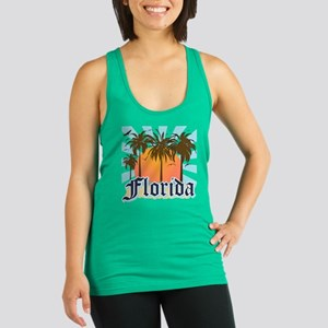 Florida The Sunshine State Racerback Tank Top
