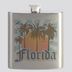 Florida The Sunshine State Flask