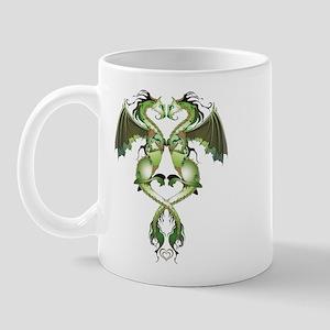 Earthen Love Dragons Mug Mugs